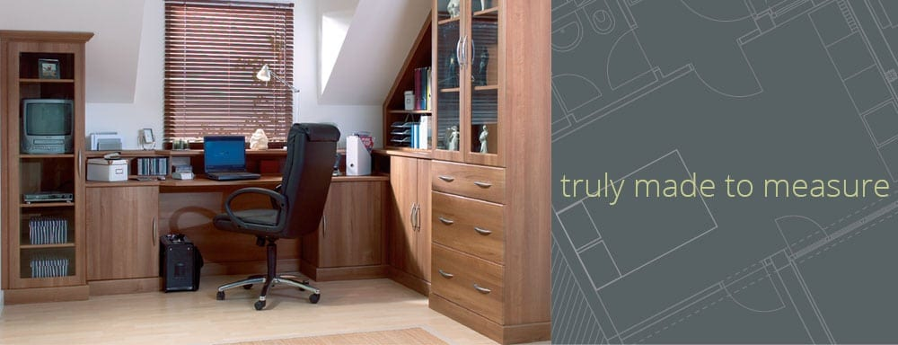 made to measure bedroom and office furniture